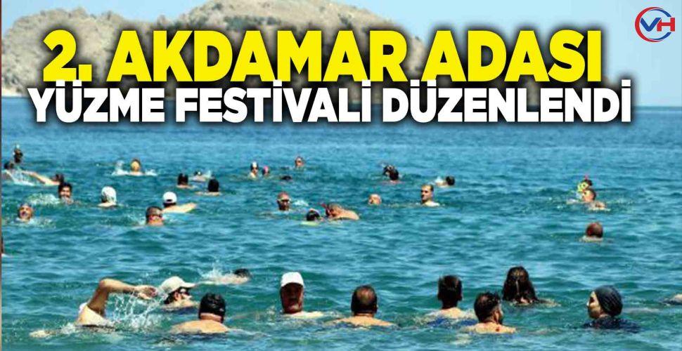 2. Akdamar Adası Yüzme Festivali düzenlendi