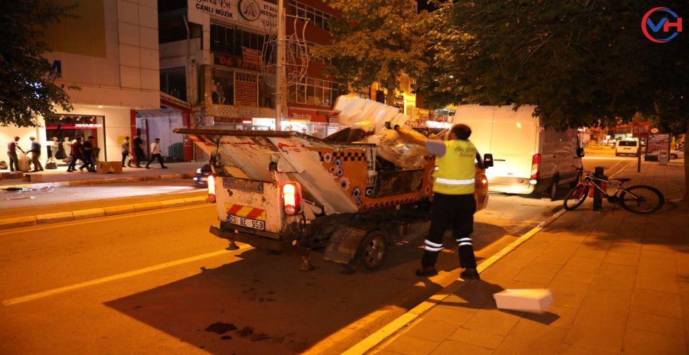 İpekyolu Belediyesi'nden temizlik seferberliği