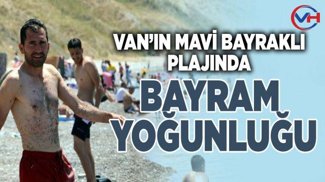 Vanlılar bayram tatilinde göle akın etti