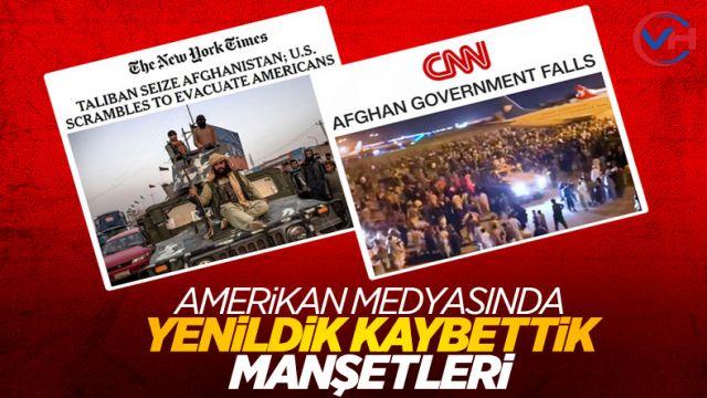 ABD basınında Taliban manşetleri