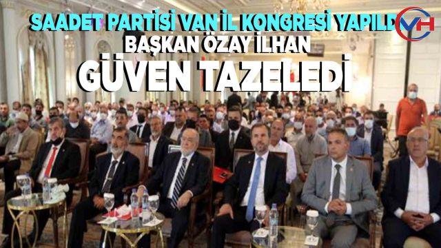 Saadet Partisi Van İl Kongresi gerçekleştirildi