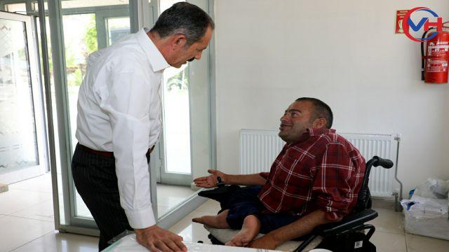 Başkan Tanış, engelli vatandaşın talebini yerine getirdi