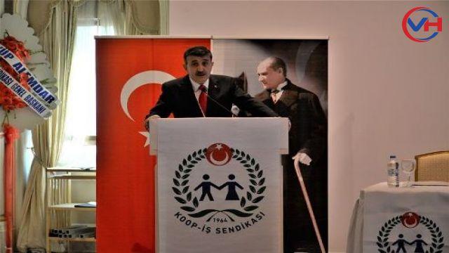 KOOP-İŞ Van Şube Başkanlığına Ayhan Özbek seçildi