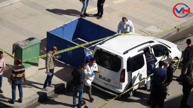 Van'da cadde ortasında silahlı saldırı: 1 ölü