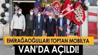 Emirağaoğlu Toptan Mobilya Van'da açıldı