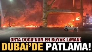 Dubai'de büyük patlama!