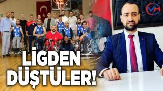 Van Bedensel Engelliler Basketbol Takımı ligden düştü