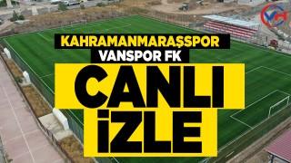 Kahramanmaraş – Vanspor Maçı Canlı İzle - 2 Lig Kırmızı grup maçları