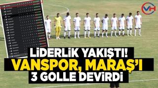 Vanspor, Kahramanmaraşspor'u deplasmanda 3-0 mağlup etti