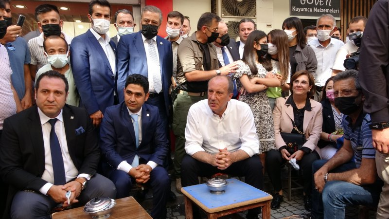 Memleket Partisi Genel Başkanı Muharrem İnce Van'da